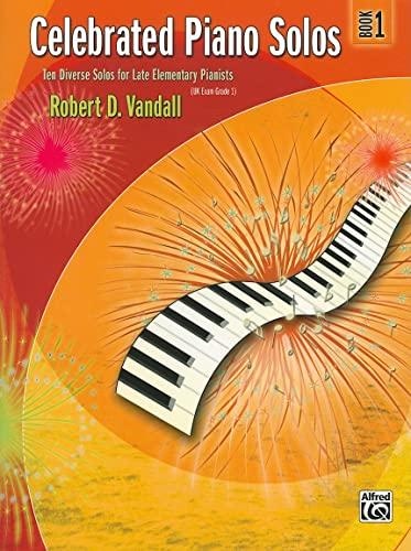 Celebrated Piano Solos, Bk 1: Ten Diverse
