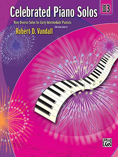 9780739063859: Celebrated Piano Solos, Bk 3: Nine Diverse Solos for Early Intermediate Pianists
