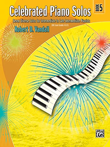 9780739063873: Celebrated Piano Solos, Bk 5: Seven Diverse Solos for Intermediate to Late Intermediate Pianists