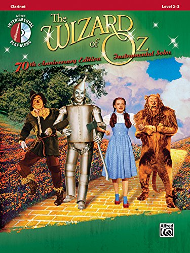9780739064238: The Wizard of Oz Instrumental Solos: Clarinet, Book & CD (Pop Instrumental Solos Series)