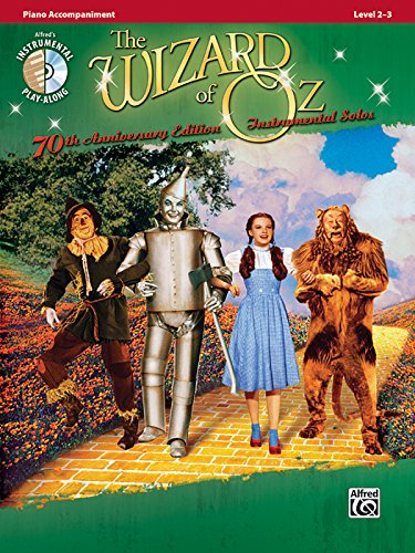 9780739064290: Wizard of Oz Instrumental Solos: Piano Accompaniment (70th Aniiversary Edition)