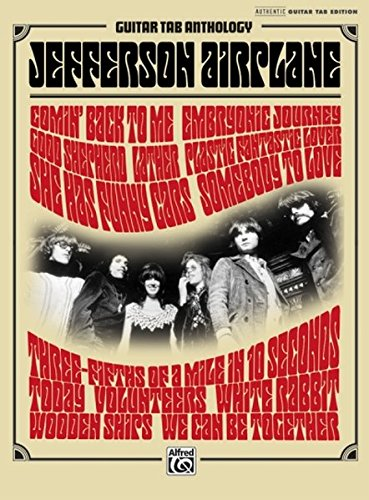 9780739064337: Jefferson Airplane Guitar TAB Anthology: Authentic Guitar TAB