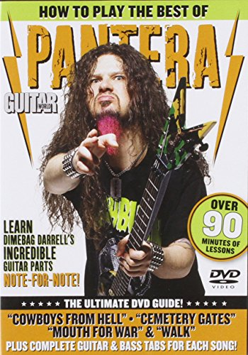 9780739064535: Guitar World: How to Play the Best of Pantera: The Ultimate DVD Guide