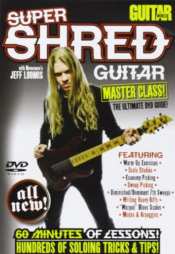 9780739064559: Super Shred Guitar: Master Class: The Ultimate Dvd Guide (Guitar World)