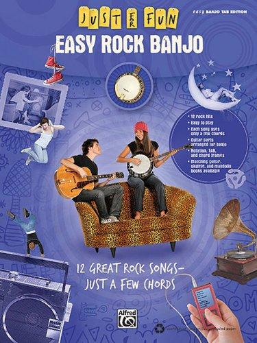 9780739064634: Just For Fun: Easy Rock Banjoeasy Banjo Tab Edition
