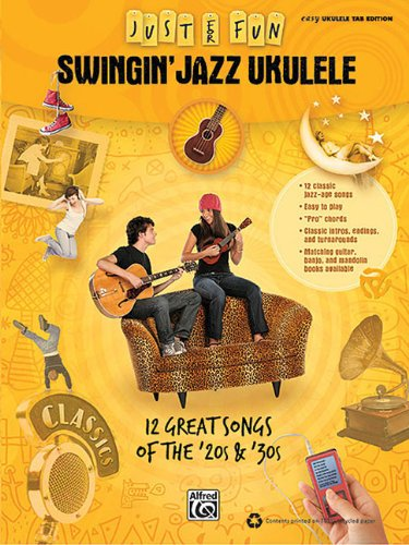 9780739064696: Swingin' jazz ukulele ukulele (Just for Fun)