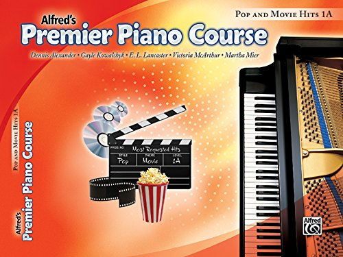 9780739064955: Premier Piano Course Pop and Movie Hits, Bk 1A