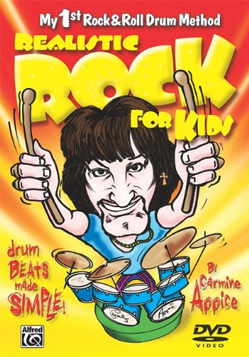 9780739065105: Realistic Rock for Kids: Drum Beats Made Simple (My 1st Rock and Roll Drum Method) DVD