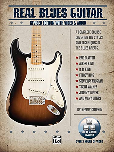 Real Blues Guitar [With CD (Audio)] (Paperback): Kenny Chipkin