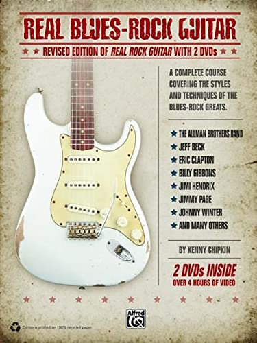 9780739065181: Real Blues-Rock Guitar: Revised Edition of Real Rock Guitar with 2 DVDs, Book & 2 DVDs