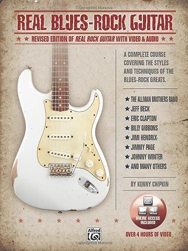 Real Blues-Rock Guitar (Mixed media product): Kenny Chipkin