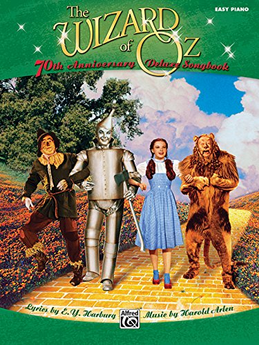 9780739065228: The Wizard of Oz Easy Piano Deluxe Songbook