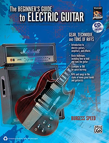 9780739065402: Beginners Guide to Electric Guitar: Gear, Technique, and Tons of Riffs, Book & CD