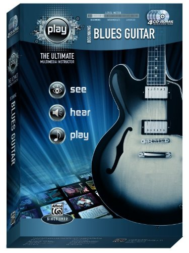 9780739065600: Alfred's PLAY Beginning Blues Guitar: The Ultimate Multimedia Instructor, CD-ROM (Alfred's Play Series)