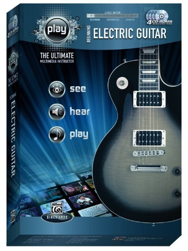 9780739065617: Alfred's PLAY Beginning Electric Guitar: The Ultimate Multimedia Instructor, CD-ROM (Alfred's Play Series)