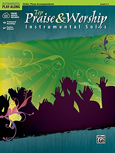 9780739065990: Top Praise & Worship Instrumental Solos for Strings: Violin (Book & CD) (Instrumental Play-Along)