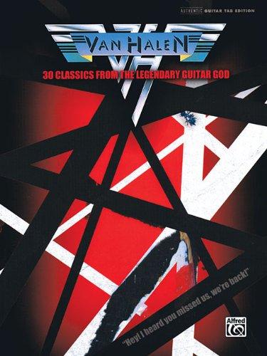 9780739066171: Van Halen - 30 Classics from The Legendary Guitar God: 30 Classics from the Legendary Guitar God (Authentic Guitar-Tab Editions)