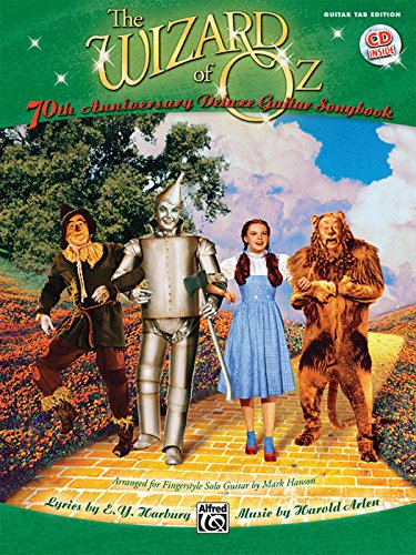 9780739066188: The Wizard of Oz - für Gitarre Buch/CD: 70th Anniversary Deluxe Guitar Singbook (Guitar Tab Editions)