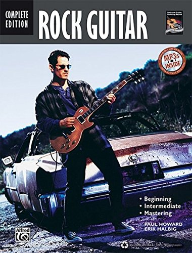 Complete Rock Guitar Method: Complete (Book & CD): Staff, Alfred Publishing