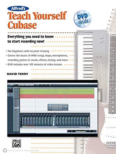 9780739066430: Terry David Alfreds Teach Yourself Cubase Book/DVD +DVD