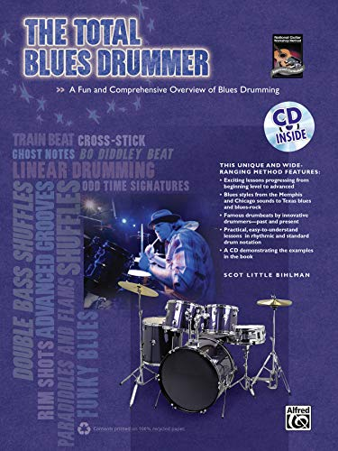 9780739066454: The Total Blues Drummer: A Fun and Comprehensive Overview of Blues Drumming, Book & CD (The Total Drummer)