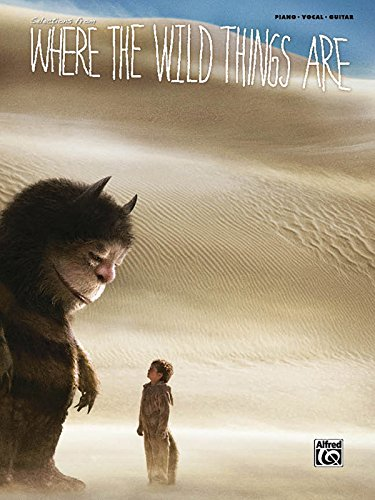 9780739066928: Where the Wild Things Are (Movie Selections): Piano/Vocal/Chords