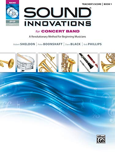 9780739067215: Sound Innovations for Concert Band: A Revolutionary Method for Beginning Musicians; Teacher's Score, Book 1
