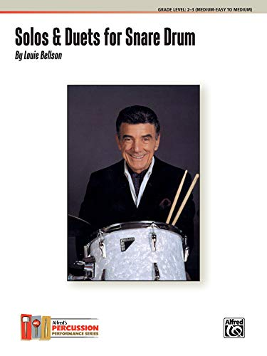 Solos & Duets for Snare Drum Format: By Louie Bellson