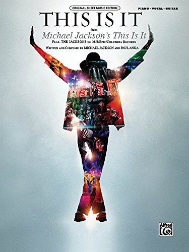 9780739068502: This Is It: From Michael Jackson's This Is It/ Piano, Vocal, Guitar (Original Sheet Music Edition)
