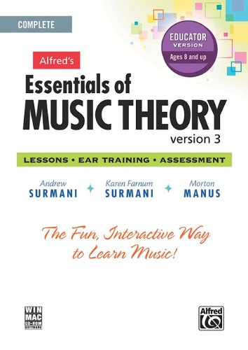 9780739068632: Alfred's Essentials of Music Theory Software, Version 3.0: Complete Educator Version, Software