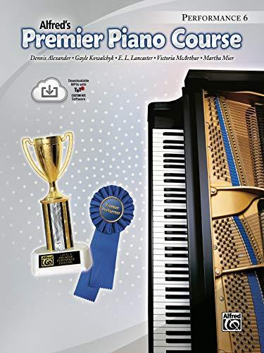 9780739068922: Premier Piano Course Performance, Bk 6: Book & CD
