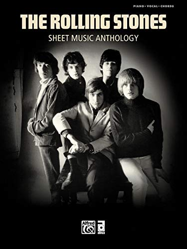 9780739068953: The Rolling Stones Sheet Music Anthology: Piano/ Vocal/ chords