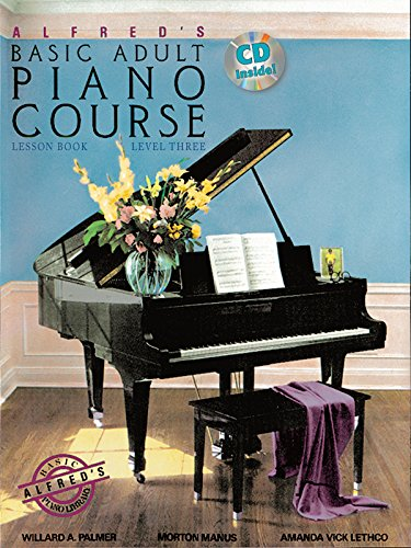 9780739069530: Alfred's Basic Adult Piano Course Lesson Book, Level 3 [With CD (Audio)]