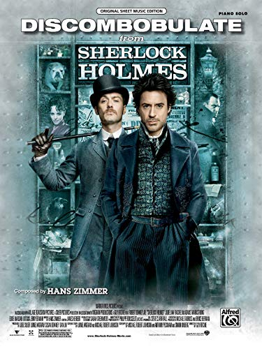 9780739069653: Discombobulate From Sherlock Holmes for Piano Solo: Original Sheet Music Edition