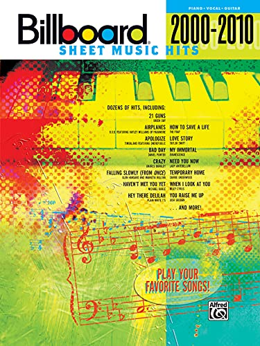 9780739069684: Billboard Sheet Music Hits 2000-2010: Piano/Vocal/Guitar (Billboard Magazine)