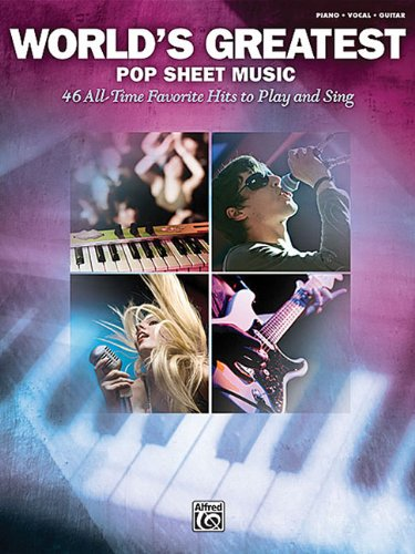 9780739069776: World's Greatest Pop Sheet Music For Piano Vocal Guitar