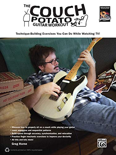 9780739069868: The Couch Potato Guitar Workout: Technique-Building Exercises You Can Do While Watching TV! (Couch Potato Workout)