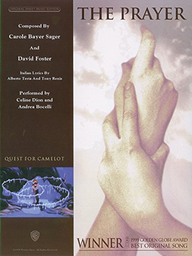 9780739069936: The Prayer: Piano/Vocal/Chords, Sheet (Original Sheet Music Edition) (Italian and English Edition)
