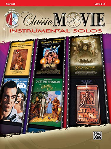 9780739070000: Classic Movie Instrumental Solos: Clarinet, Book & CD (Pop Instrumental Solo Series)