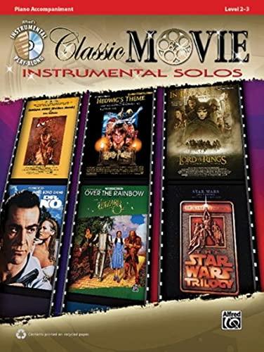 9780739070062: Classic Movie Instrumental Solos: Piano Acc., Book & CD (Pop Instrumental Solo Series)