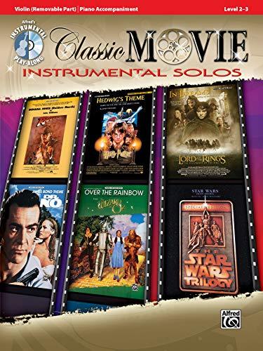 9780739070079: Classic Movie Instrumental Solos for Strings: Violin, Book & CD (Pop Instrumental Solo Series)