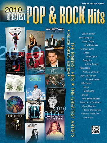 2010 Greatest Pop & Rock Hitspiano/Vocal/Guitar (Greatest Hits): Hal Leonard Corp.