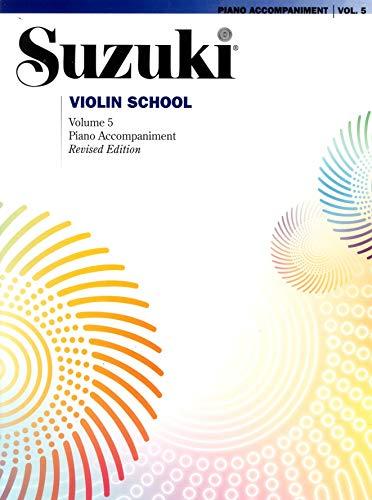 9780739070543: Suzuki Violin School, Vol 5: Piano Acc.