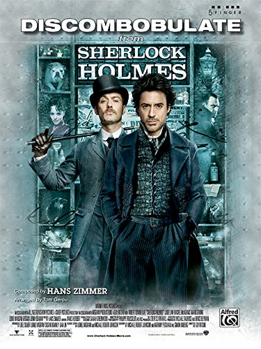 9780739070758: Discombobulate (from the motion picture Sherlock Holmes): Five Finger Piano (Sheet)