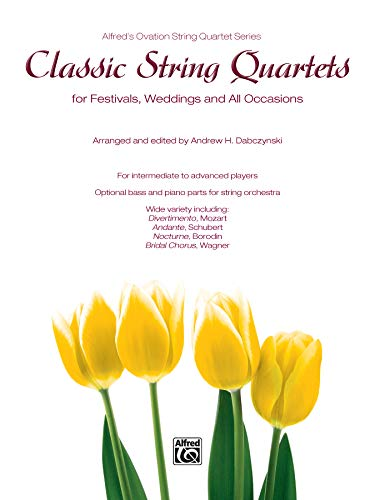 9780739070895: Classic String Quartets for Festivals, Weddings, and All Occasions: Conductor Score (Alfred's Ovation String Quartet Series)