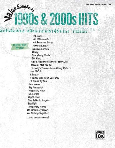 9780739071168: 1990s & 2000s: Value Songbooks Series