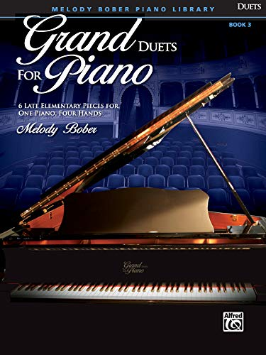 9780739071250: Grand Duets for Piano, Bk 3: 6 Late Elementary Pieces for One Piano, Four Hands