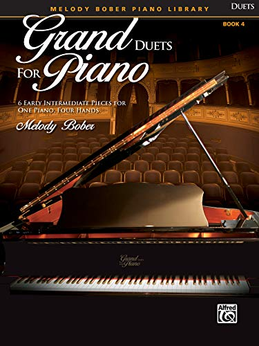 9780739071267: Grand Duets for Piano, Bk 4: 6 Early Intermediate Pieces for One Piano, Four Hands