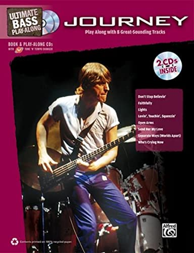 9780739071618: Ultimate Bass Play-Along Journey: Authentic Bass TAB, Book & 2 Enhanced CDs (Ultimate Play-Along)
