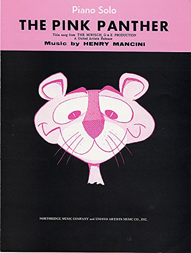 9780739071724: The Pink Panther: Piano/Vocal/Chords (Sheet)